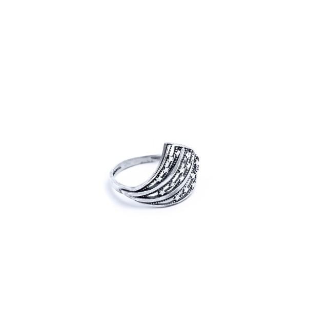 Сребърен пръстен ДРАКОНОВО КРИЛО