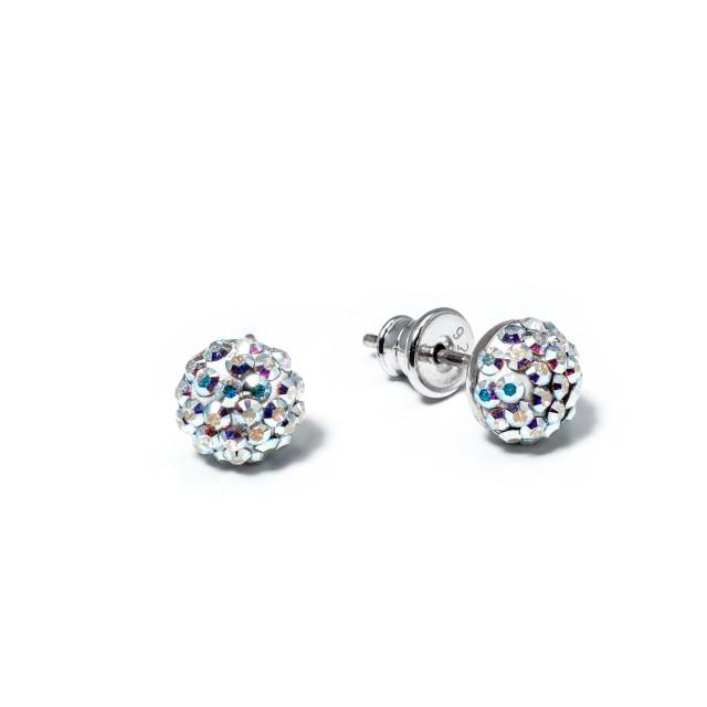 Нежни сребърни обеци