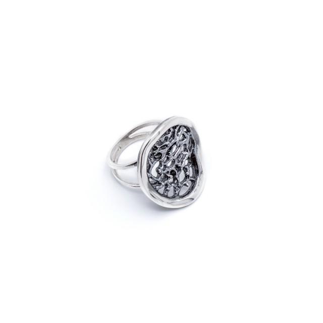 Сребърен пръстен МРЕЖА