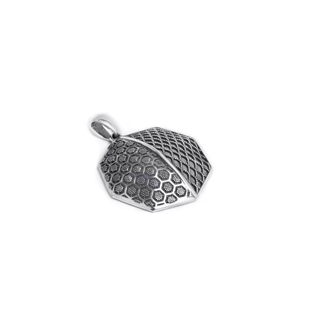 Сребърен медальон ПЧЕЛНА ПИТА
