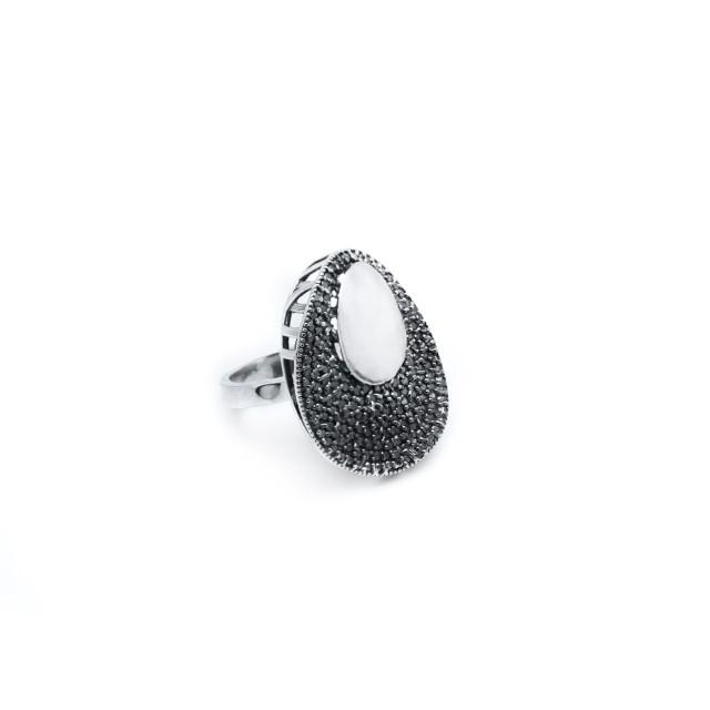 Сребърен пръстен ОГЛЕДАЛО