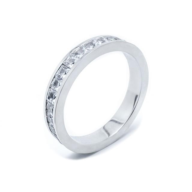 Елегантен стоманен пръстен
